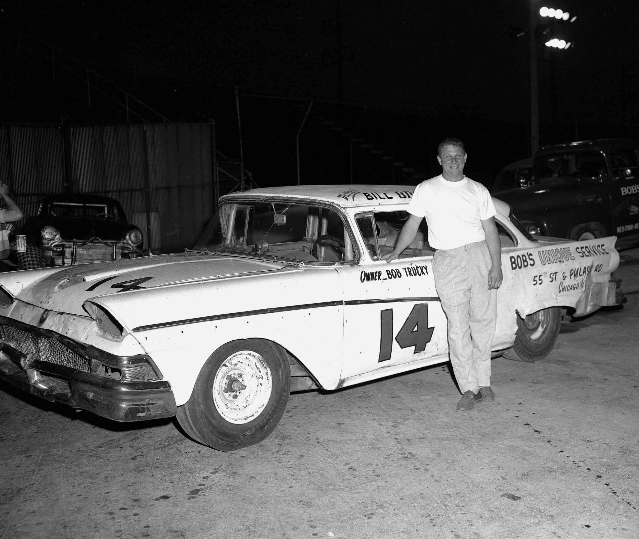 Driver 1958 ford chicago area hot rods cars