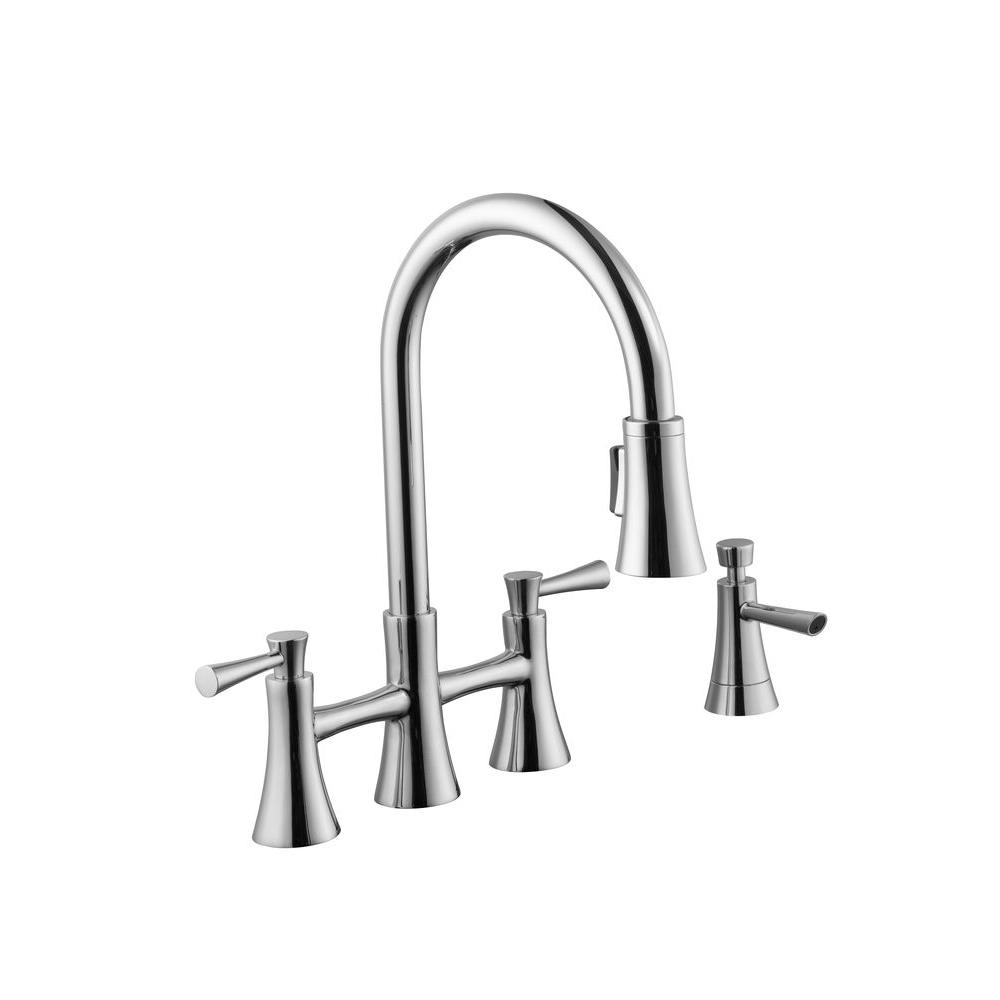 Kitchen Faucet With Pull Down Sprayer Modern Kitchen Faucets