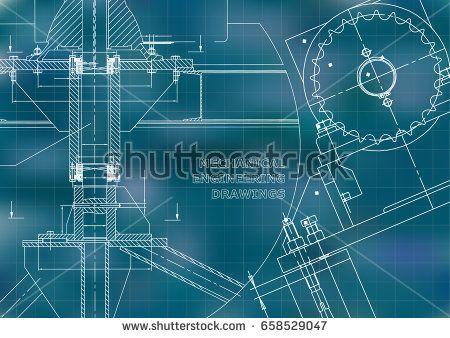 Engineering backgrounds technical mechanical engineering drawings engineering backgrounds technical mechanical engineering drawings blueprints blue grid bubushonok malvernweather Gallery
