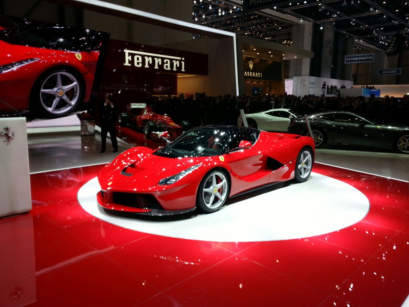 Wonderful The Ferrari LaFerrari Hybrid Supercar From Ferrari Has Been The Highlight  Of The 2013 Geneva Motor Show Attracting Each Individual Having A Glimpse  Of It.