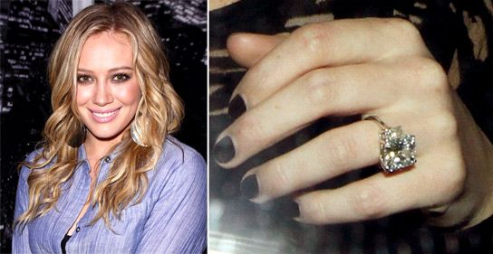 the most expensive engagement rings in the world hilary duff - Hilary Duff Wedding Ring