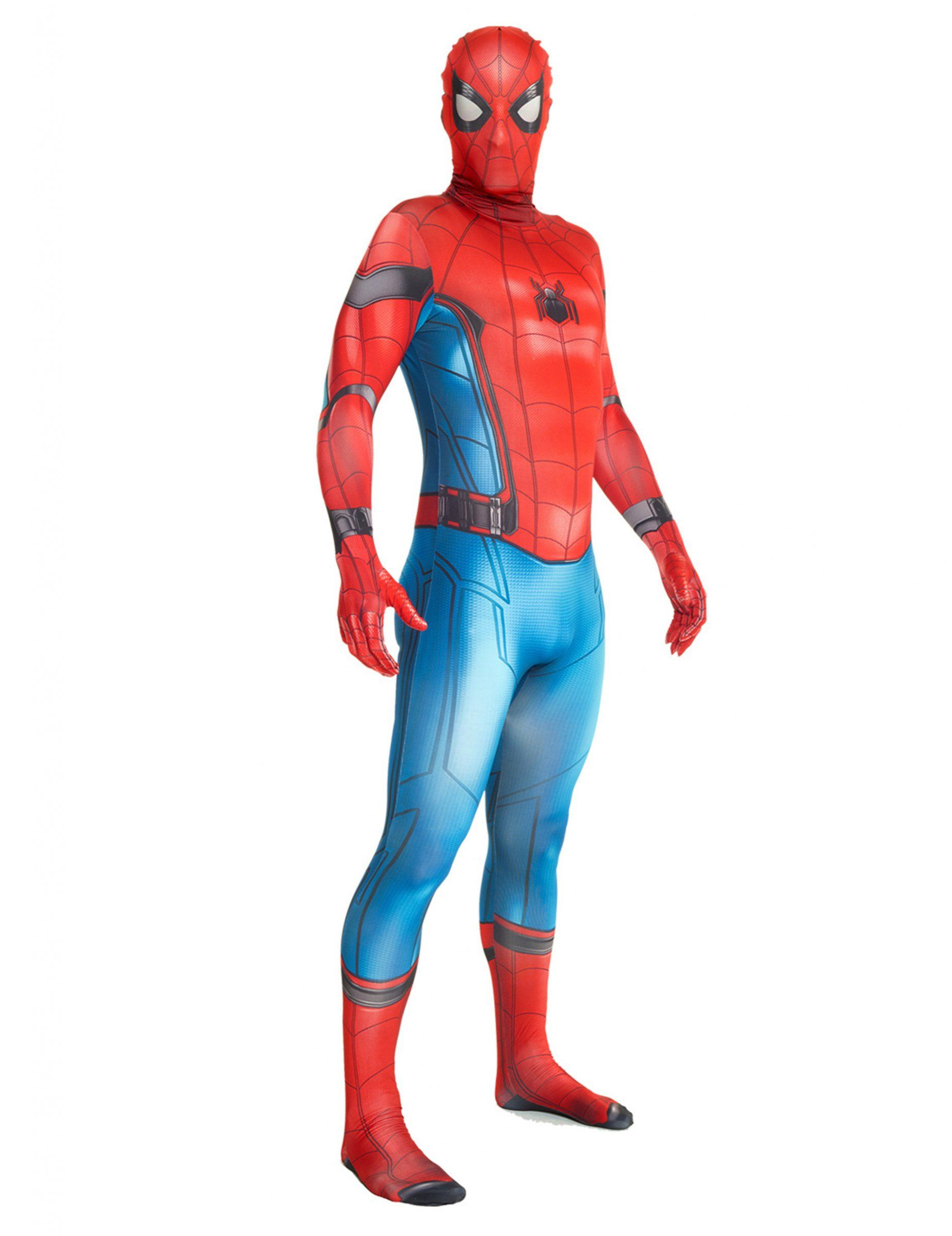 spider man homecoming morphsuits kost m f r erwachsene. Black Bedroom Furniture Sets. Home Design Ideas
