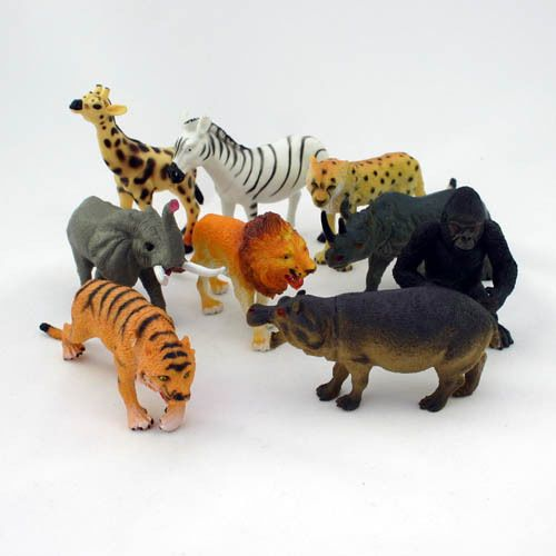 | Plastic animals