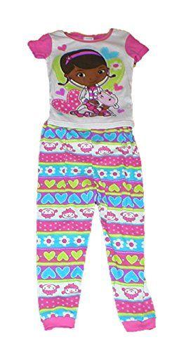 71138f354497 Disney Doc Mcstuffins Baby Toddler Little Girls Cotton 2 Piece ...