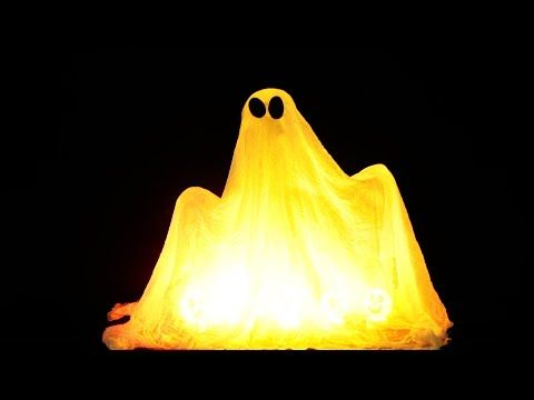 DIY Halloween Ghost Glow Balloons - Yard Decorations! Indoor - how to make scary homemade halloween decorations