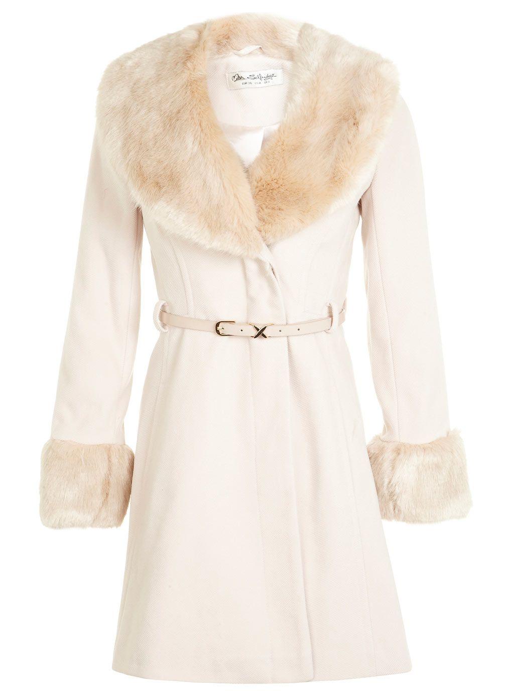 Kuşaklı Fit Ve Flare Coat - Manto ve Ceketleri - Giyim - Miss ...
