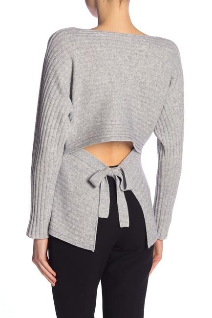 Vince | Tie Back Dolman Sleeve Wool & Cashmere Blend Sweater