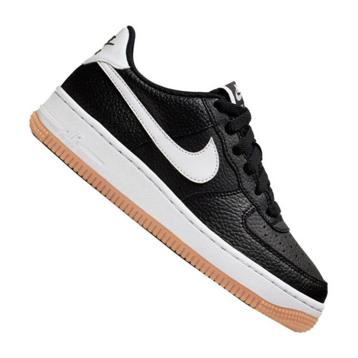 Sportowe Damskie Nike Czarne Buty Nike Air Force 1 2 Gs Ci1759 001 Nike Air Force Nike Air Nike