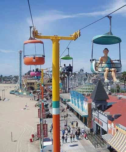 Santa Cruz Boardwalk, California USA