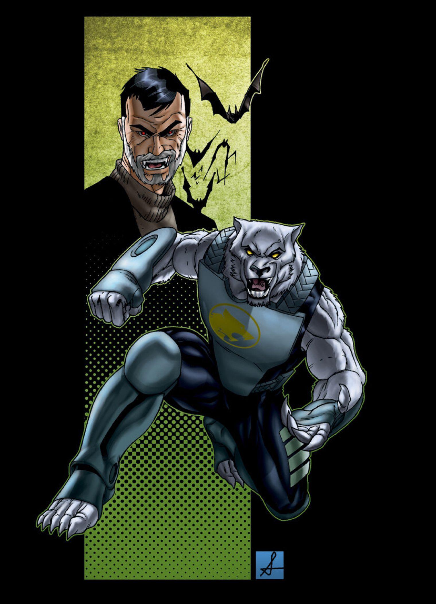 Werewolf Superhero Equals Sean-izaakse Deviantart Halloween In 2019