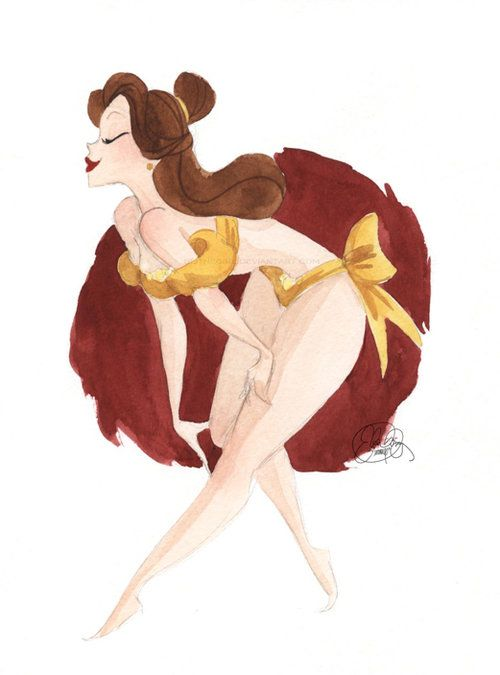 The Swedish Bed » Blog Archive » The definitive Disney princess Pin-ups collection