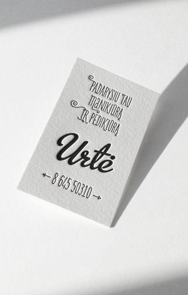 Unique Letterpress Business Cards Letterpresses, Business cards - letterpress business card