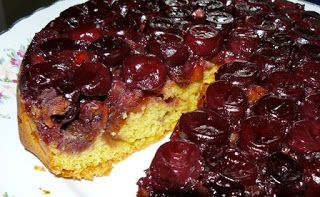 The French Village Diaries: Fat Free Cherry Cake Recipe
