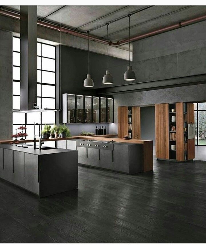 Luxury Industrial Kitchen: Pin Van Antoinette Op Keukens
