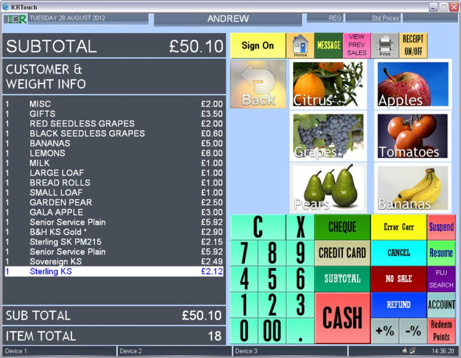 Best of all epos system and software for takeaway retail