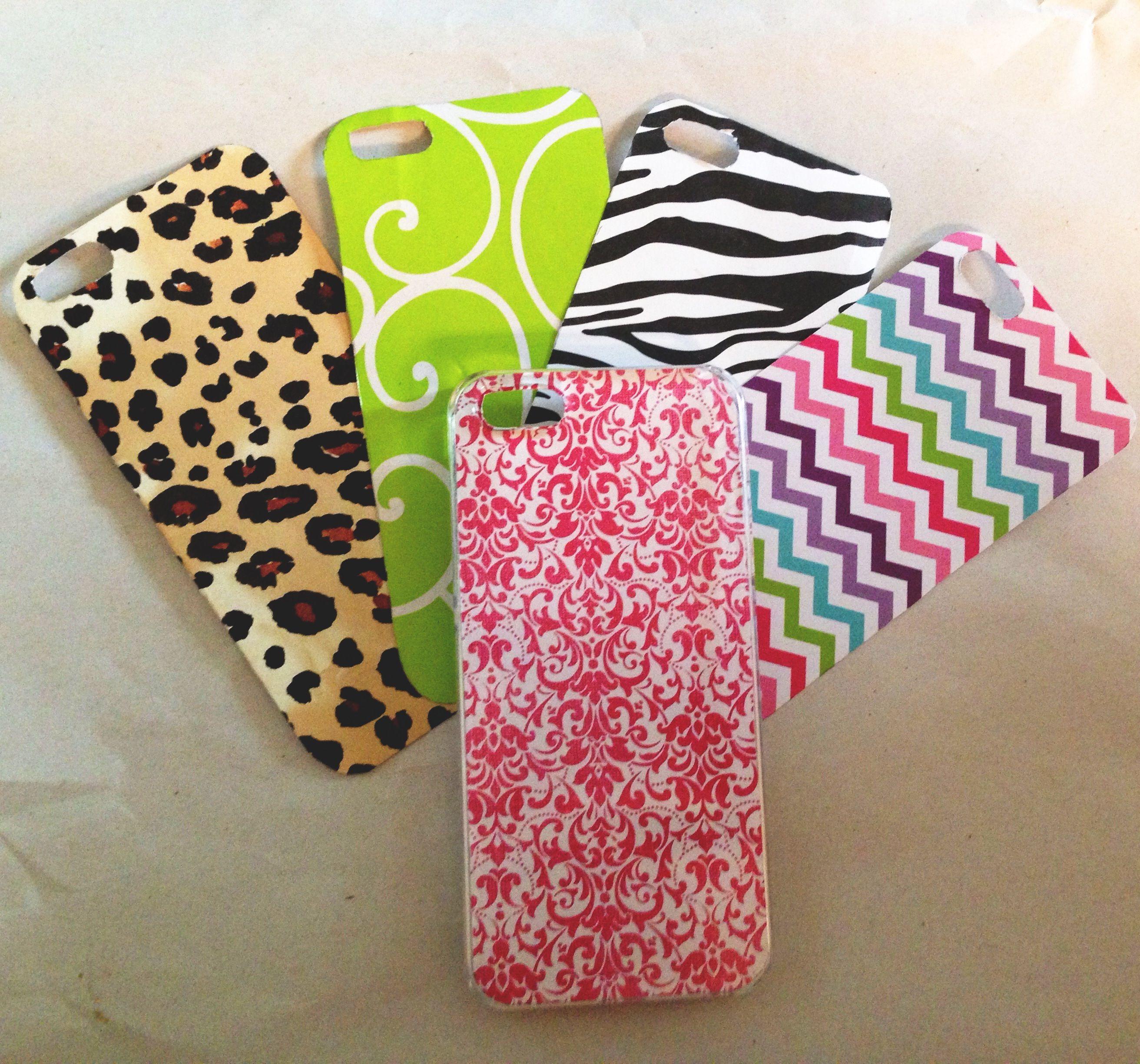 Scrapbook paper case - Diy Phone Case Clear Iphone Case With Pretty Scrapbook Paper So Easy And Cheap