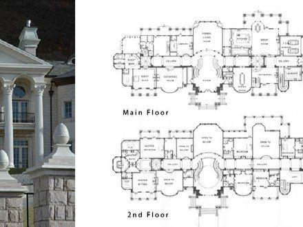 Mega Mansion Floor Plans Mansion Floor Plan Modern Floor Plans Fantasy House