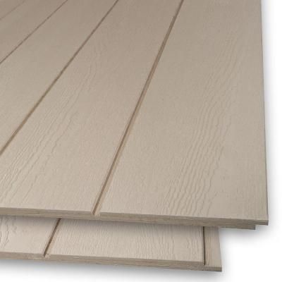 Plywood Siding Panel Duratemp Primed 8 In Oc Common 19 32 In X 4 Ft X 8 Ft Actual 0 563 In X 48 In X 96 In Plywood Siding Panel Siding The Home Depot