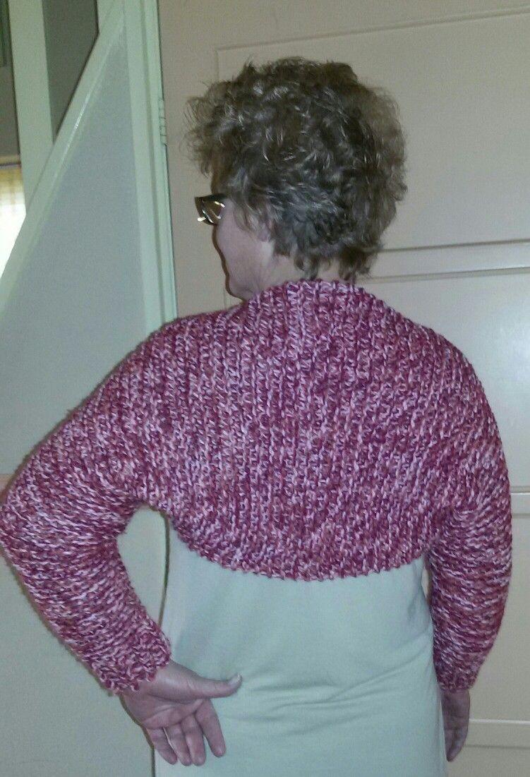 Shrug bolero loom knitted | Craft Ideas | Pinterest