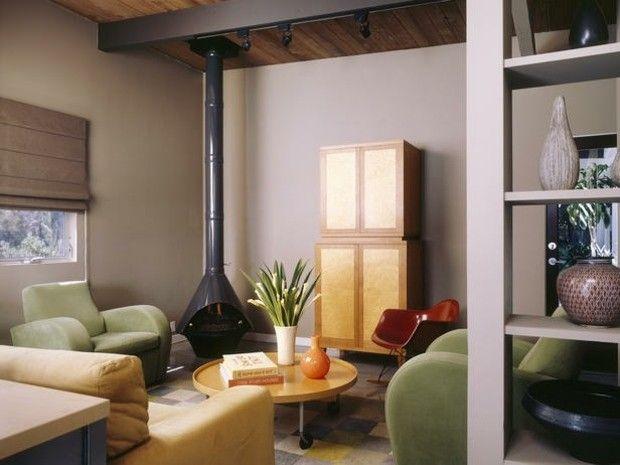 Lebendige Farben für die Dekoration von Wohnzimmern