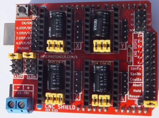 Arduino CNC Shield V3 XX – Assembly Guide | Cnc | Arduino
