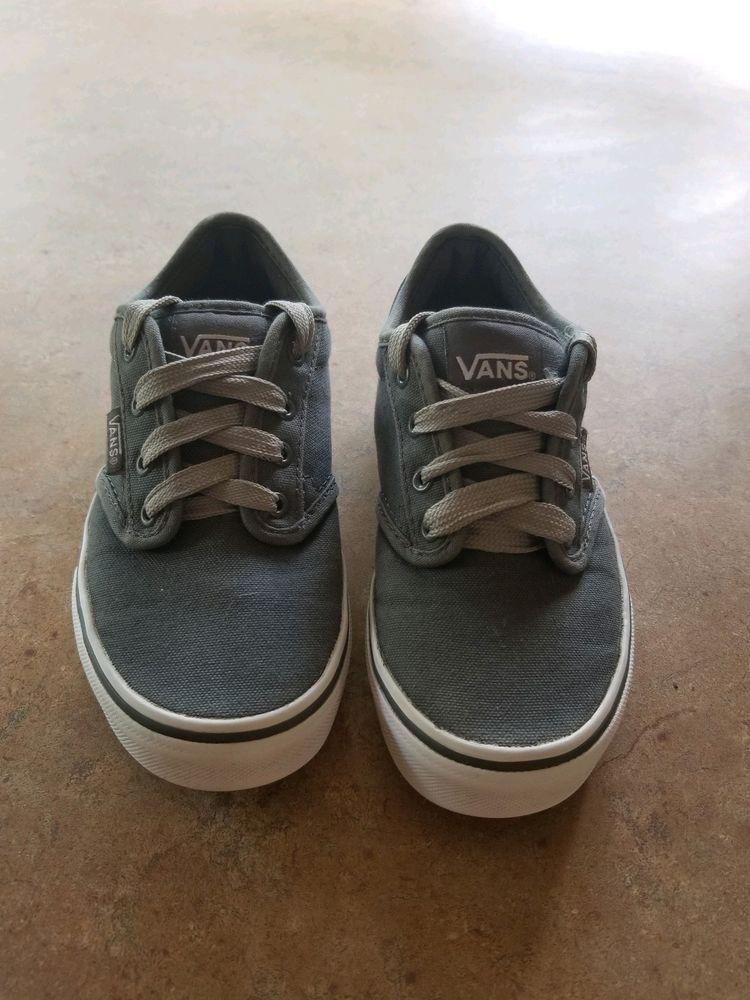 vans boys shoes size 1