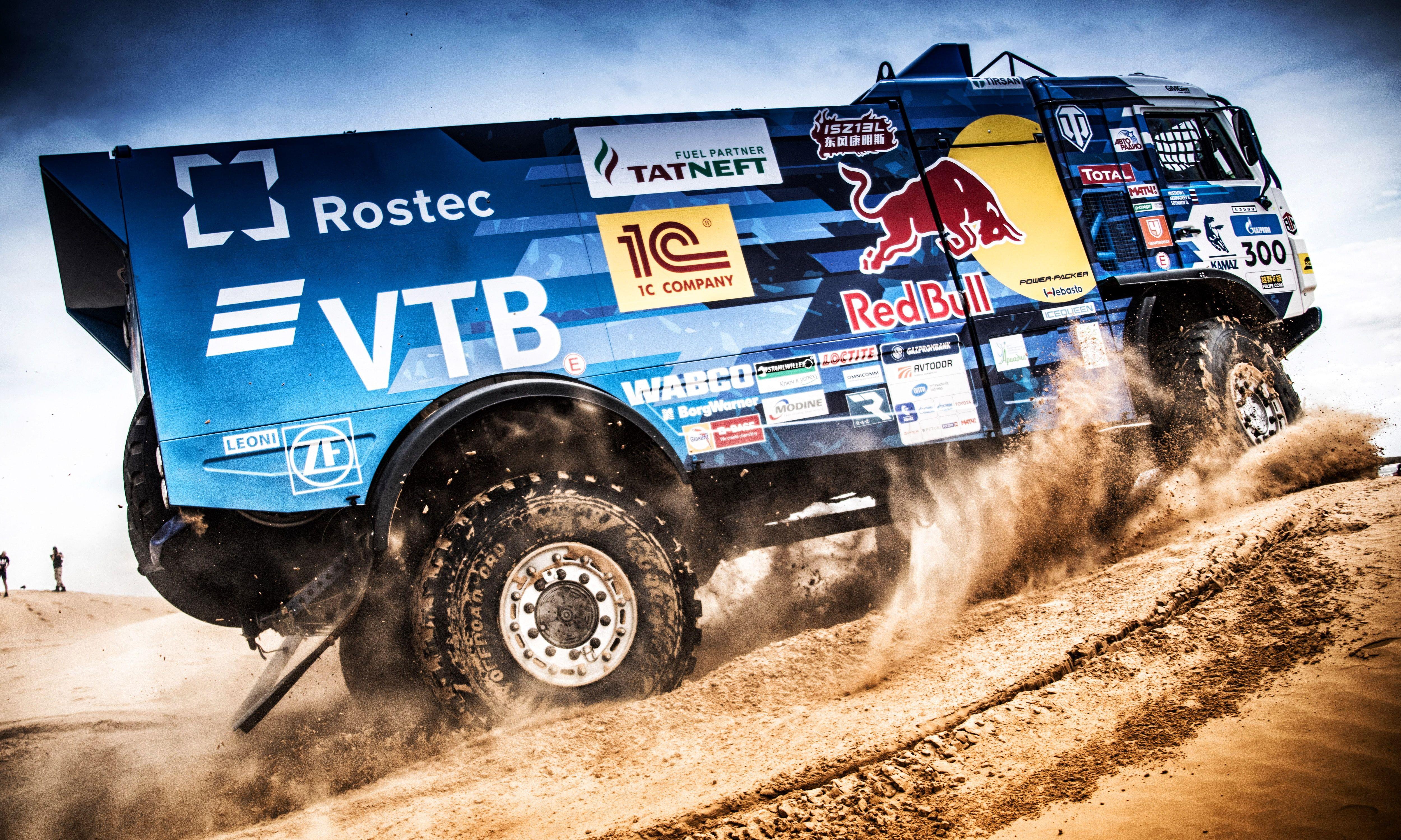 Vehicle Desert Rally Kamaz 4k Wallpaper Hdwallpaper Desktop Rally Motion Wallpapers Hd Wallpaper