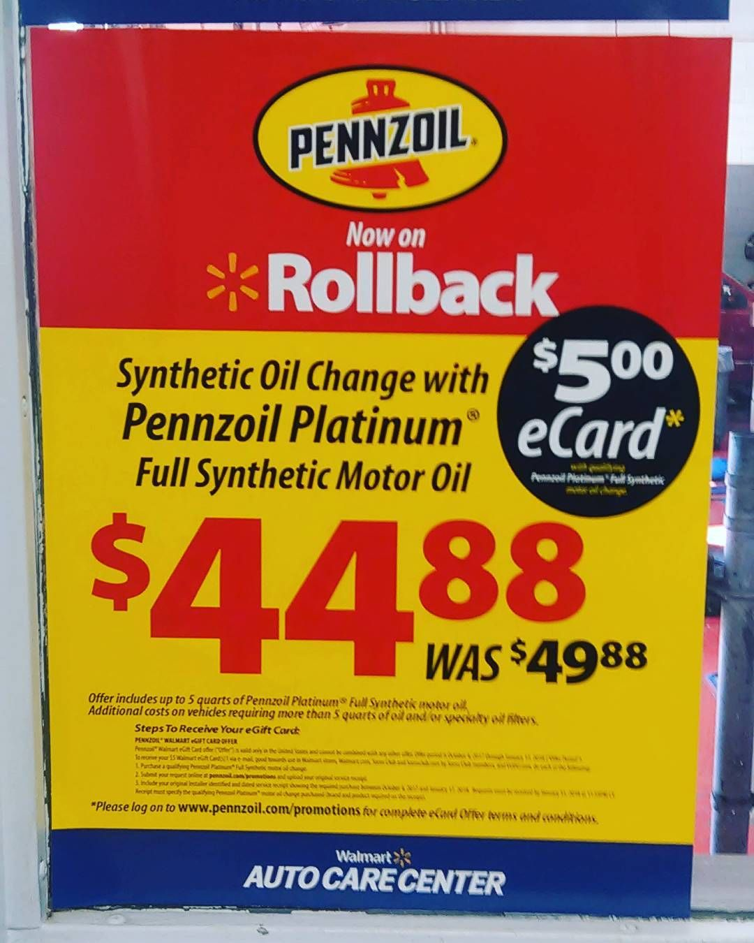 Walmart Oil Change Meme