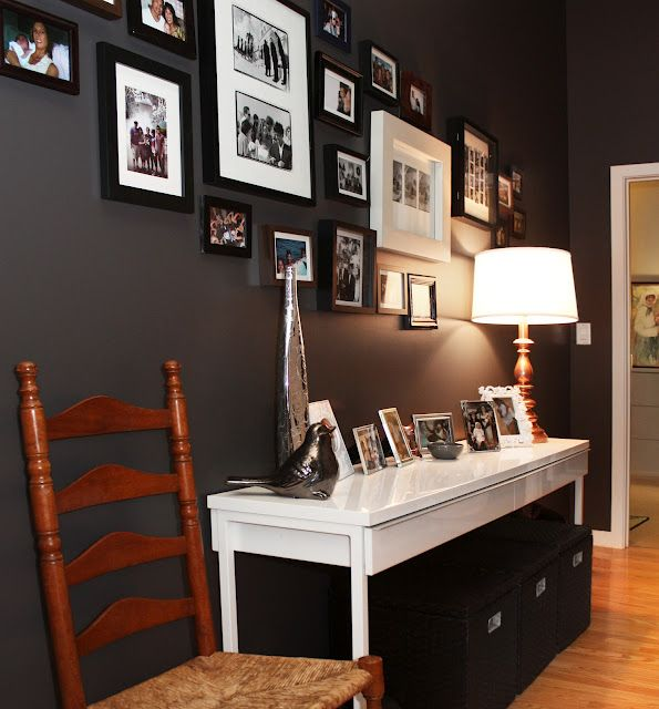 Charcoal Paint Behr Ultra Intellectual...perfect For An