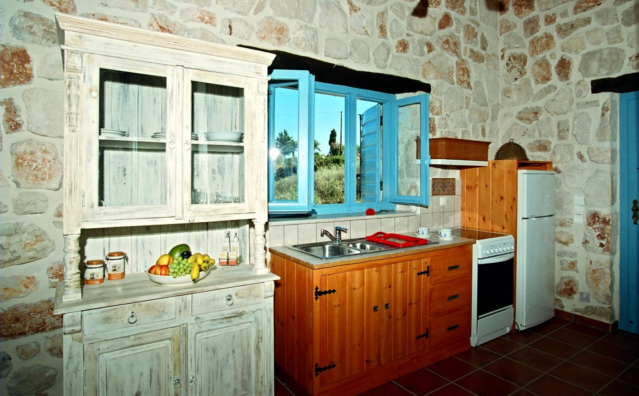 Strofilia Apartments, Kitchen - Book Now your Zante Holidays in ...