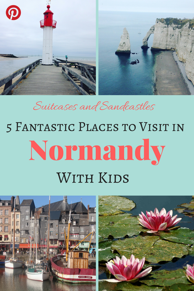 what to see in normandy france