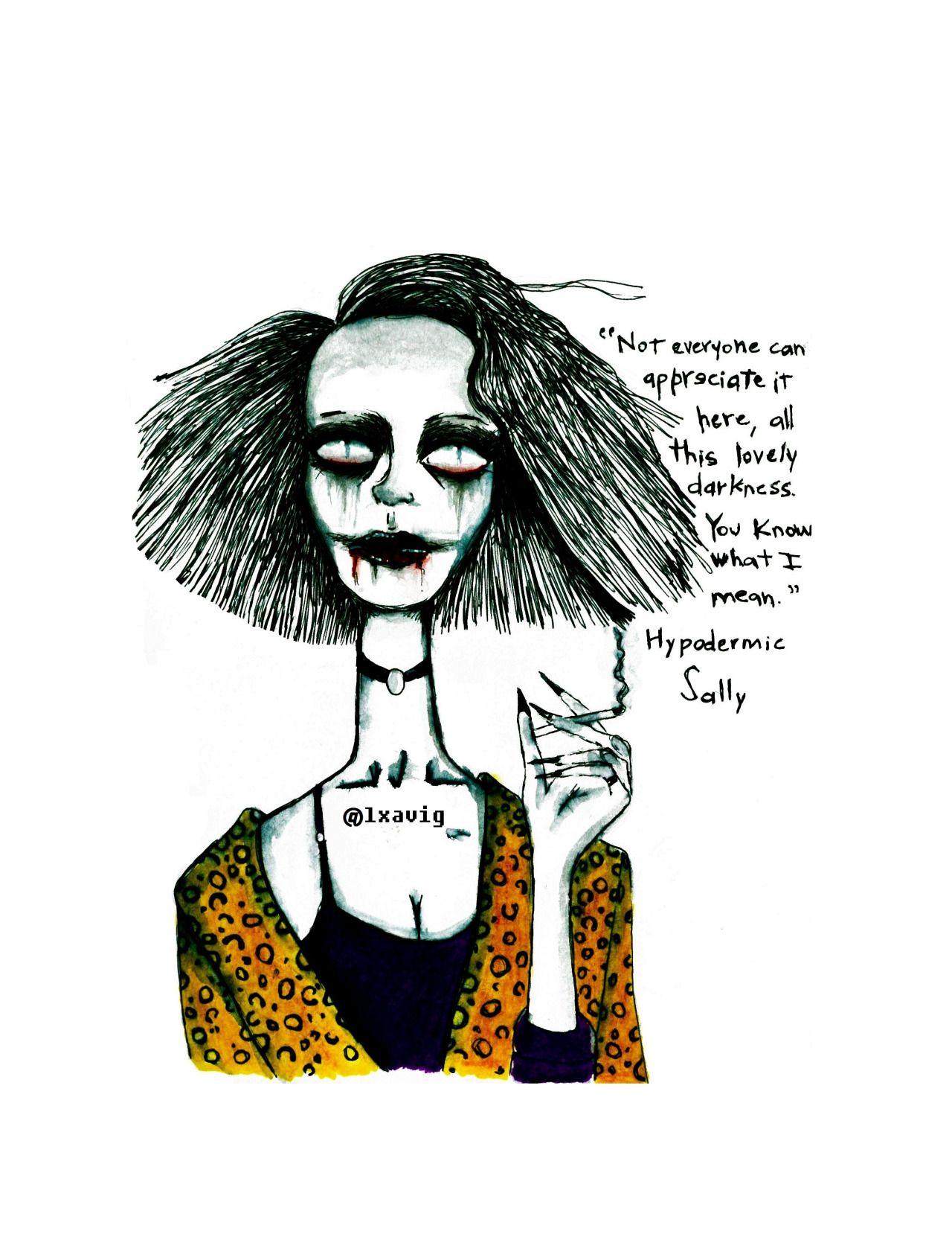 American Horror Story Sally Hypodermic