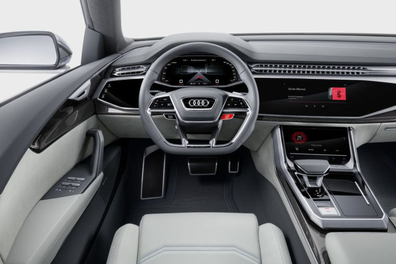 2018 audi virtual cockpit. delighful audi 2018 audi q8 interior virtual cockpit digital screens in hd resolution on audi cockpit p