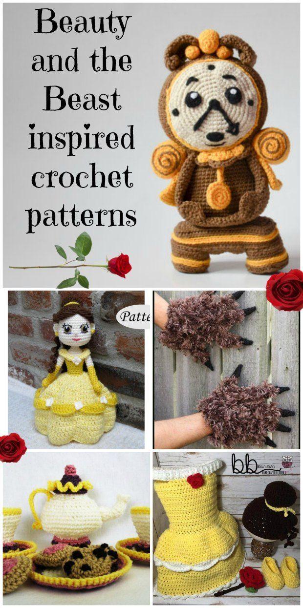 Beauty And The Beast Crochet Patterns Disney Crochet Patterns