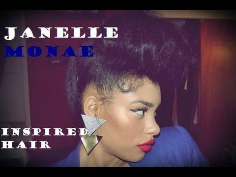 How to : Janelle Monae Hair