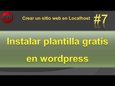 Instalar plantilla gratis en wordpress. Temas wordpress gratis Vídeo ...