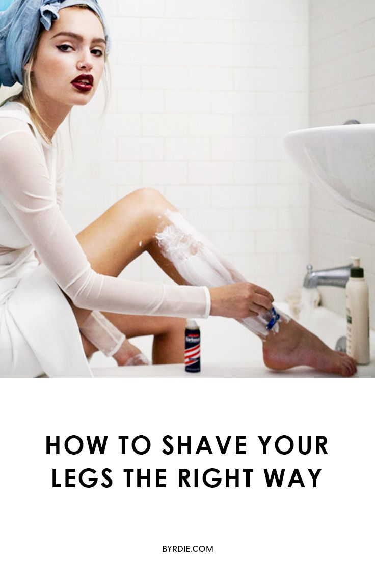 So Ive Been Shaving My Legs Wrong My Entire Life