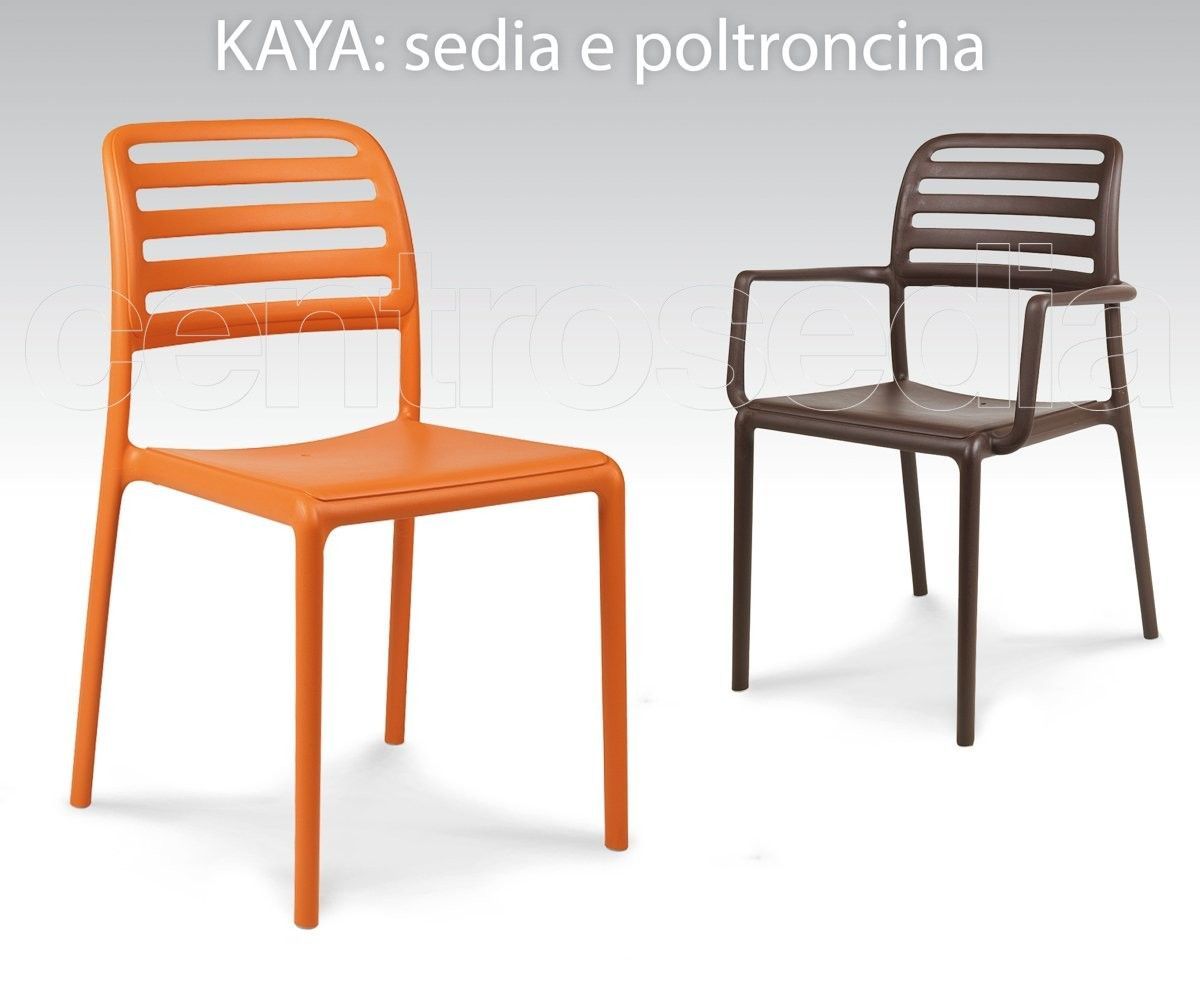 Costa Sedia Polipropilene-Sedie Plastica, Polipropilene | sedie ...