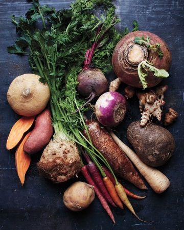 Root Vegetables 101-These so-called root vegetables store nutrients in their roots or underground stems (which are called tubers). They come from various botanical families and are characterized by a deep, sweet earthiness and pleasingly dense texture. In other words, great winter meals start here.