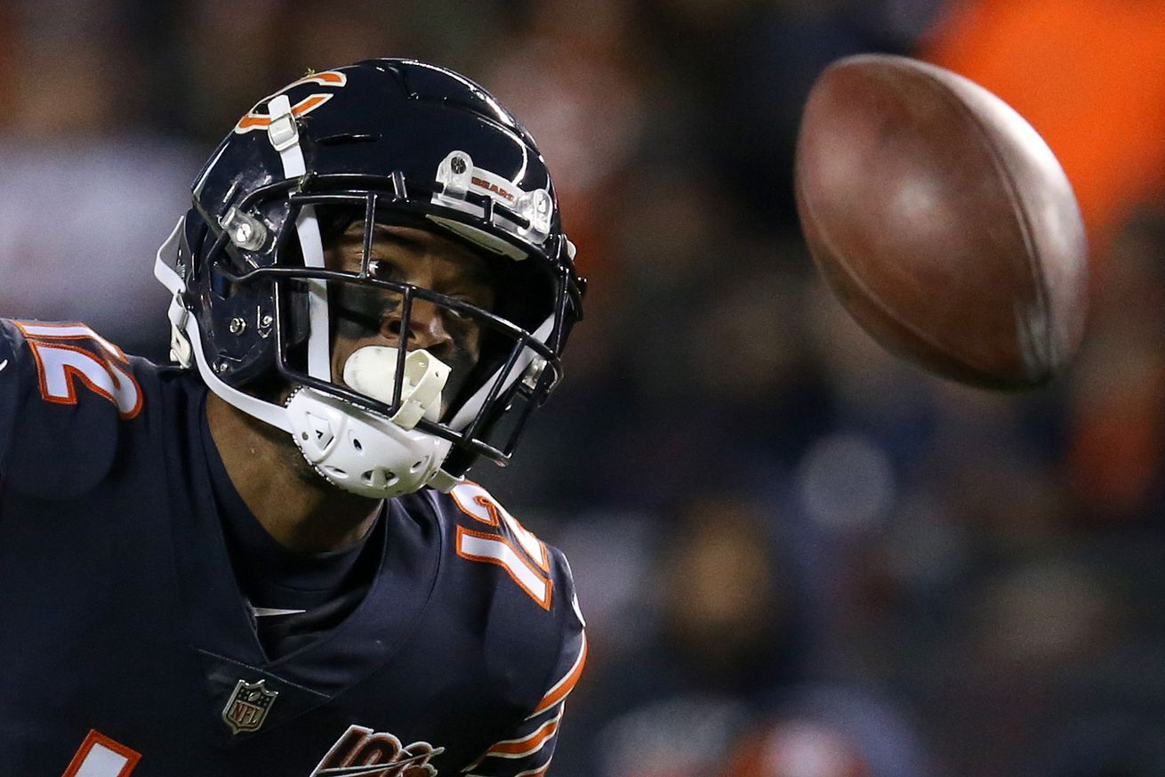 Chicago Bears 2020 Roster Turnover How Big A Need Is Wide Receiver In 2020 Chicago Bears Nfl News Wide Receiver