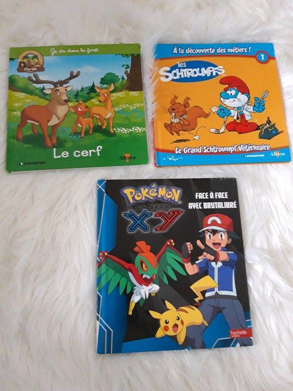 Lot de trois livres