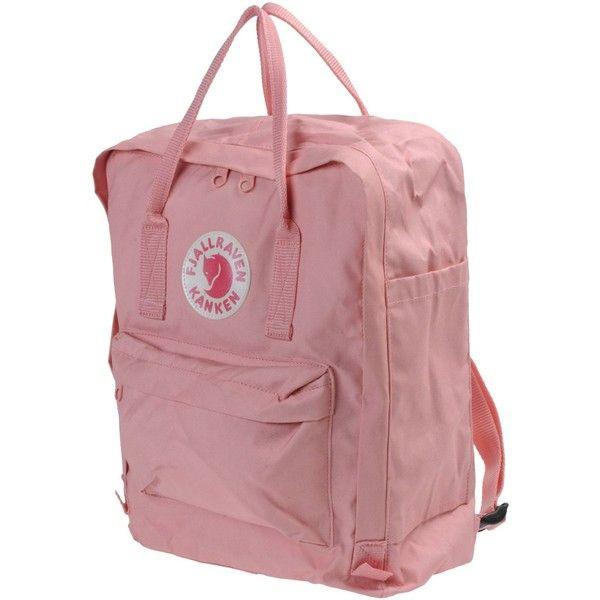 FJALL RAVEN Shoulder bag (€71) ❤ liked on Polyvore featuring bags, backpacks, accessories, pink, shoulder bags, pink shoulder bag, fjallraven rucksack, red bag and red shoulder bag