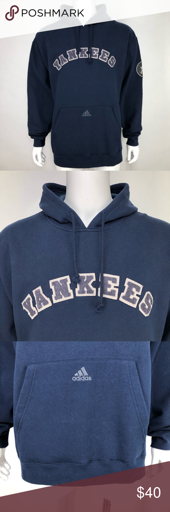 Adidas L New York Yankees Hoodie Sweatshirt Blue Sweatshirts Hoodie Sweatshirts Sweatshirt Shirt [ 1740 x 580 Pixel ]
