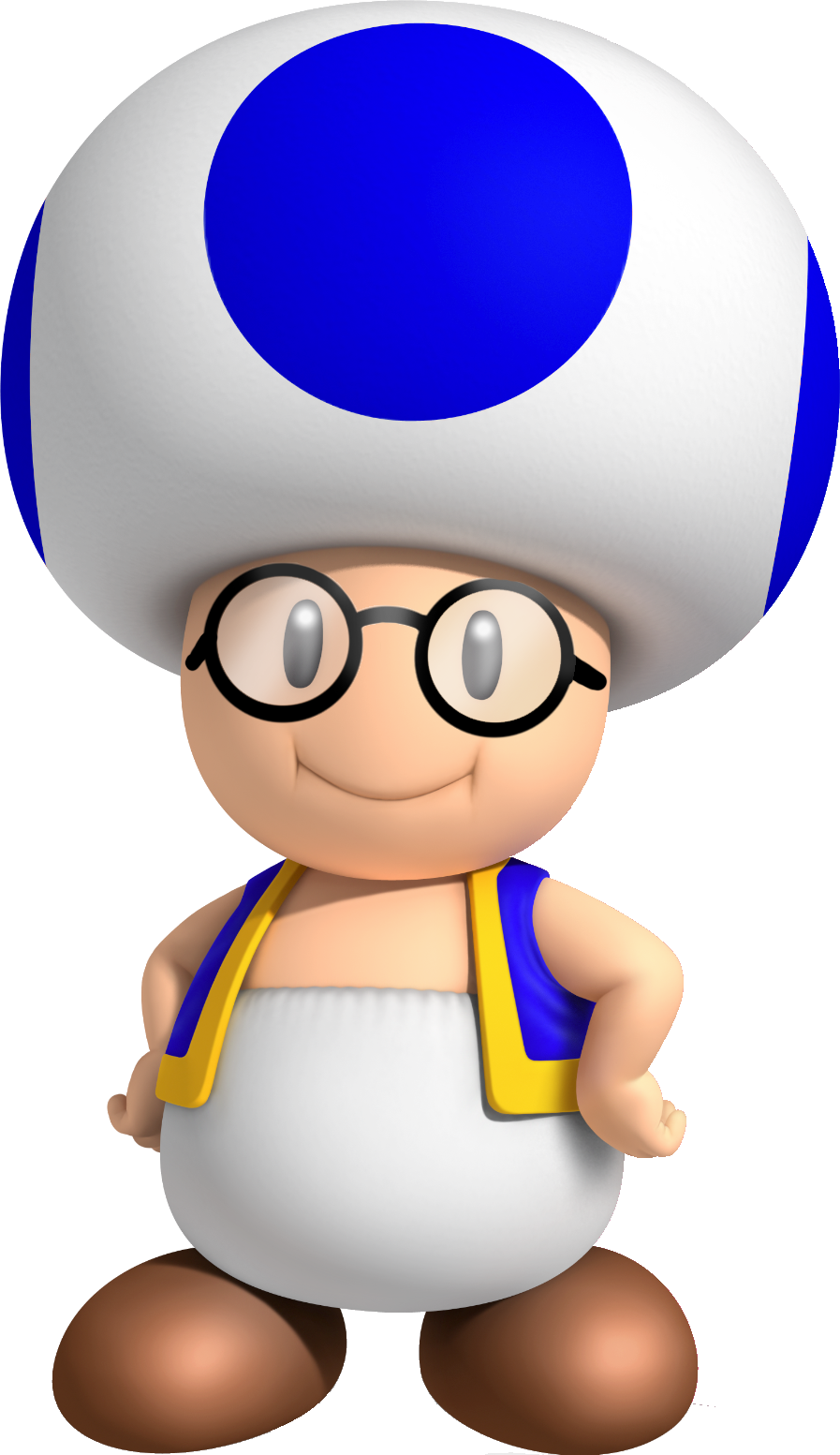Blue Toad Super Mario Party Mario Bros Party Mario Bros