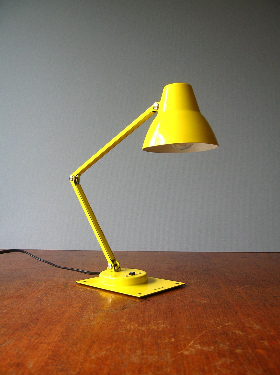 I have Granny's that was on her night stand. Vintage Bright Yellow ...