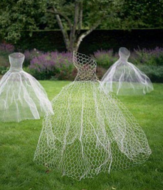 Halloween Wedding Ideas Lawn Ghosts Decoration Trouwen Pinterest - halloween ghost decor