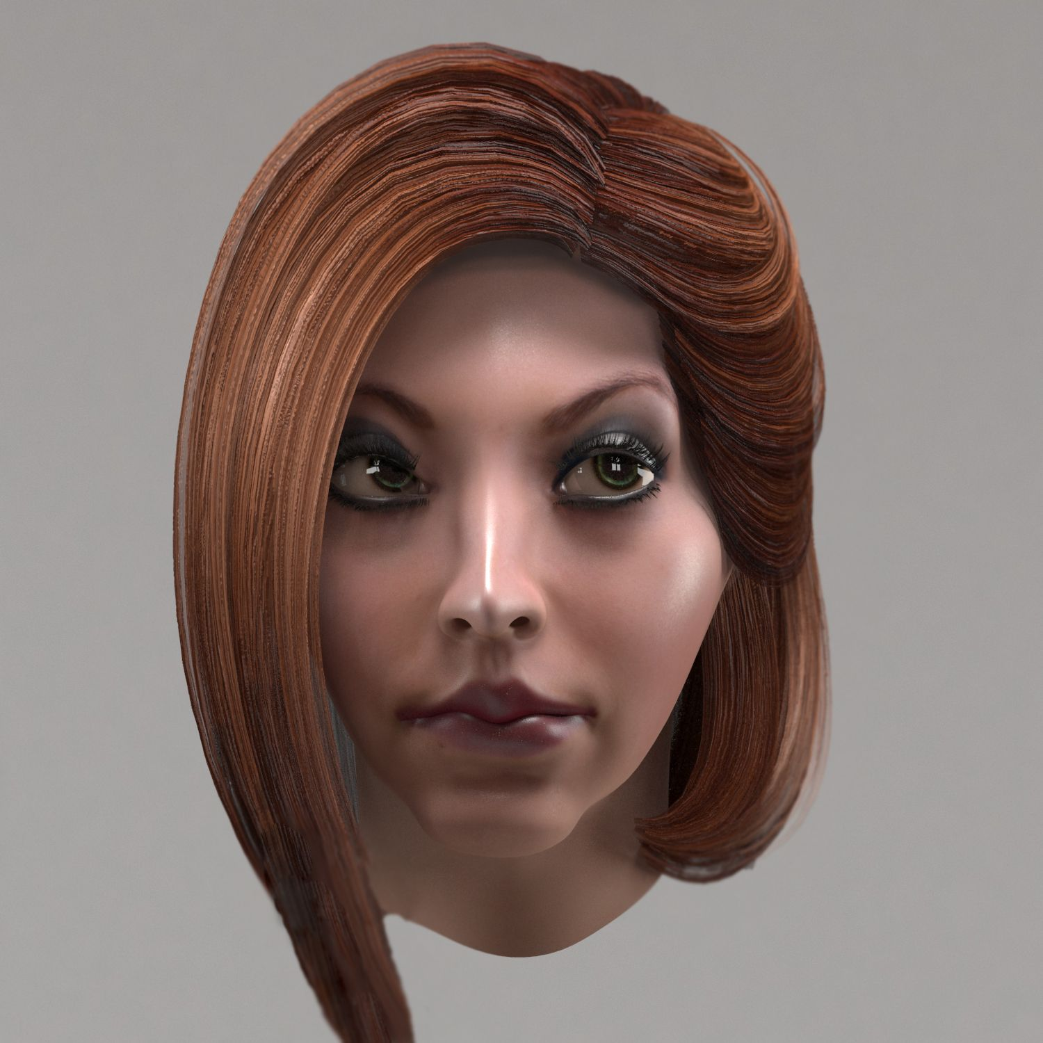 Female Hair 10 Options Low Poly 3d Model Hair Female Model Poly Womens Hairstyles Medium Hair Styles Low Poly 3d Models