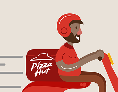 Check Out This Behance Project Pizza Hut Delivery Character Design Https Www Behance Net Gallery 19620283 P Pizza Hut Delivery Pizza Hut Character Design