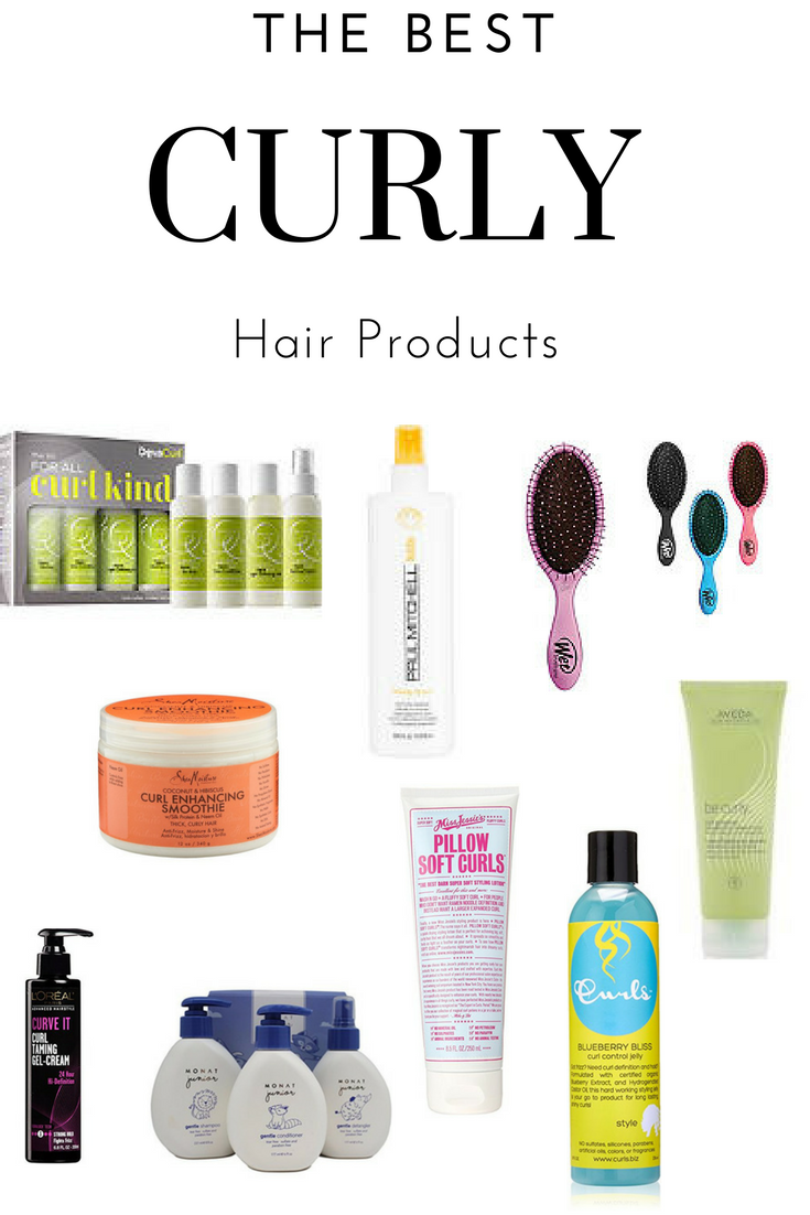 The Best Curly Hair Products Showit Blog Curly Hair Products Drugstore Curly Hair Styles Drugstore Hair Products