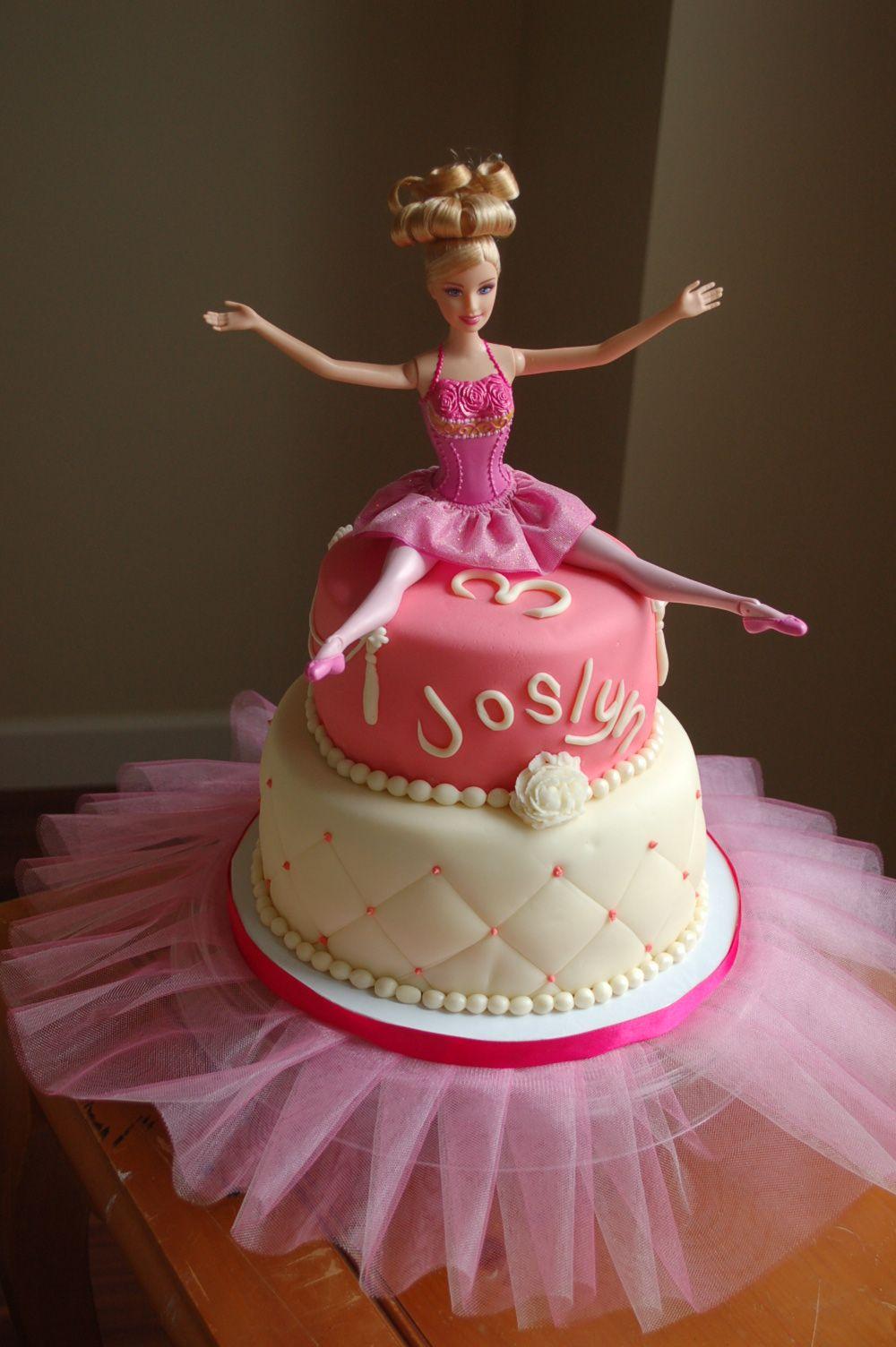 Barbie ballerina ballerina cakes pinterest ballerina - Barbie ballerine ...